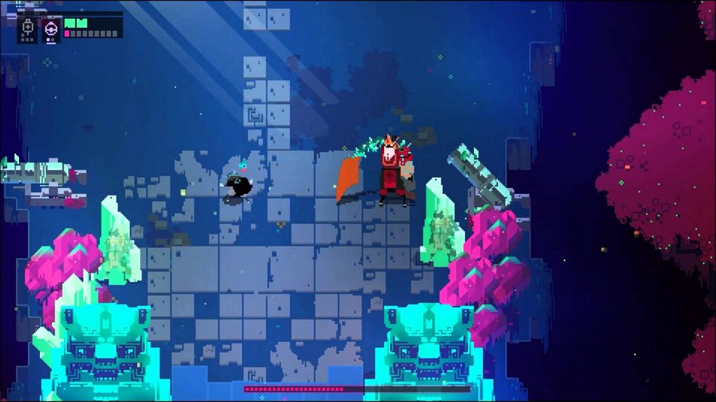Jefe final del oeste en Hyper Light Drifter