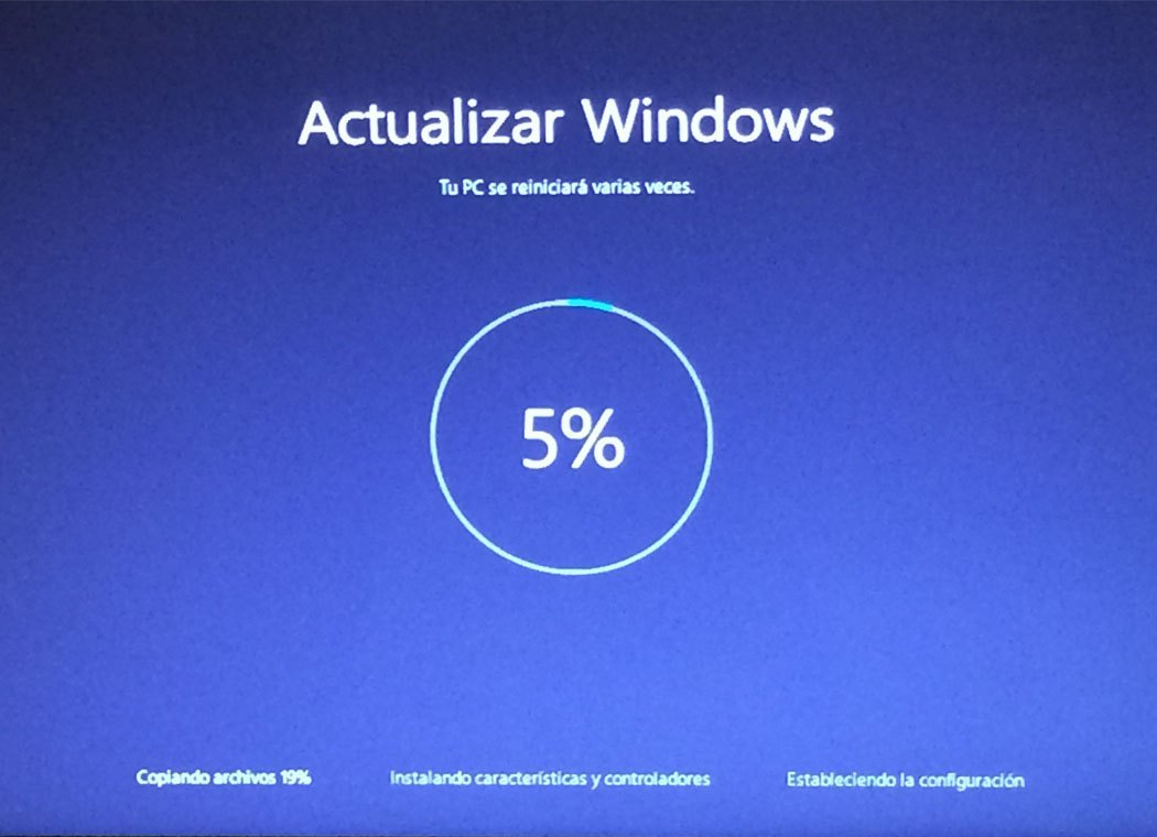 Actualizaciones de Windows 10