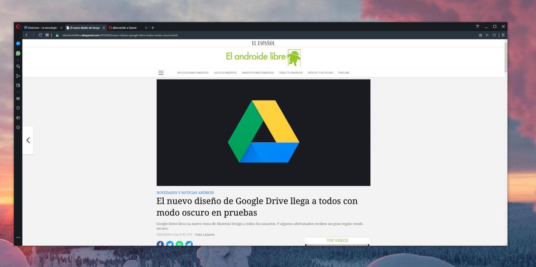 Opera con VPN integrada