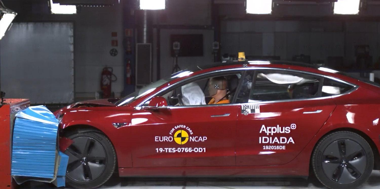 seguridad del Tesla Model 3