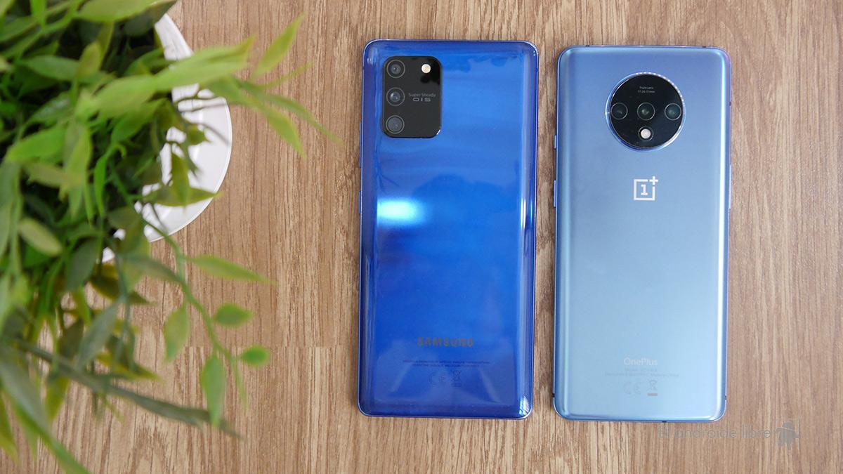 Samsung Galaxy S10 Lite vs OnePlus 7T: Te contamos cual elegir