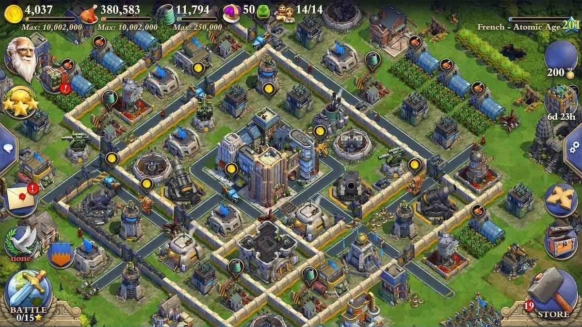 juegos estrategia gratis para android cuarentena