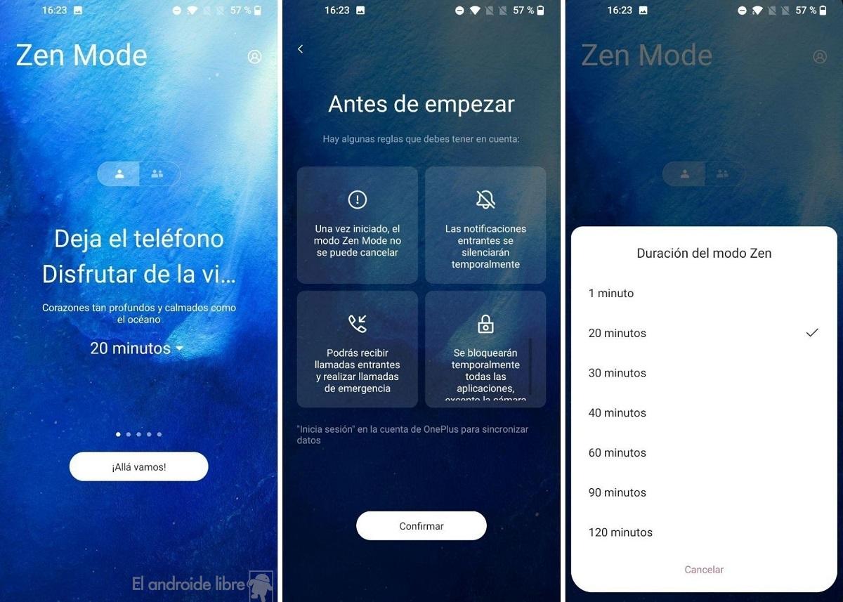 Modo Zen Oxygen OS 11