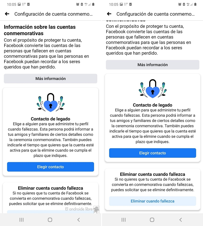 Facebook decidir que pasa con cuenta