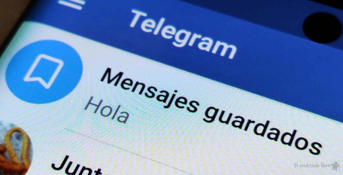 Qué hacer si eliminaste tu chat de mensajes guardados en Telegram