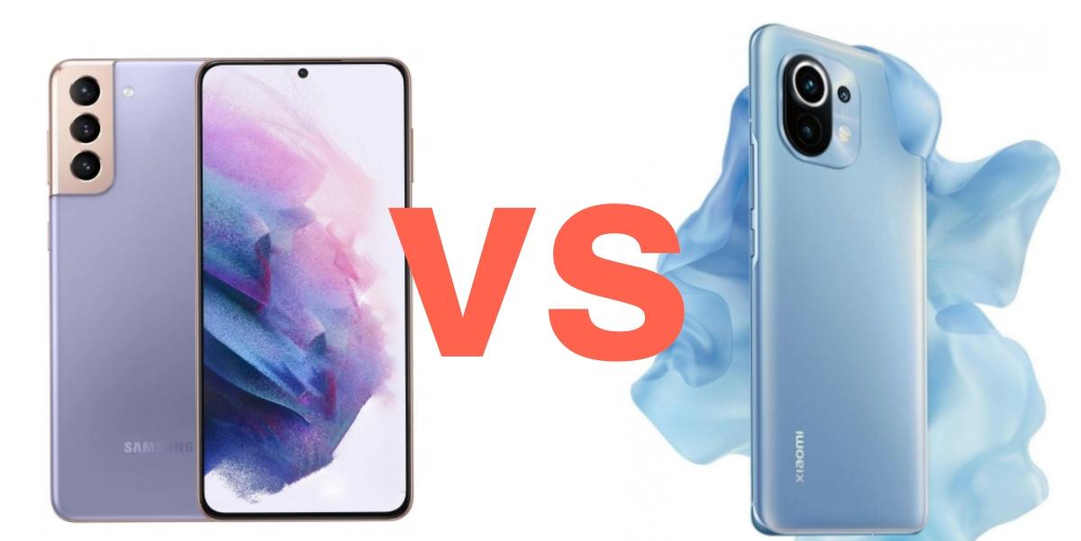 Todas las diferencias entre el Samsung Galaxy S21 vs Xiaomi Mi 11