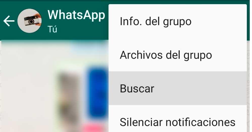 Buscar en WhatsApp