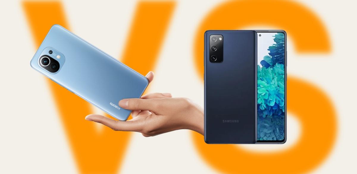 Xiaomi Mi 11 vs Samsung Galaxy S20 FE, todas sus diferencias