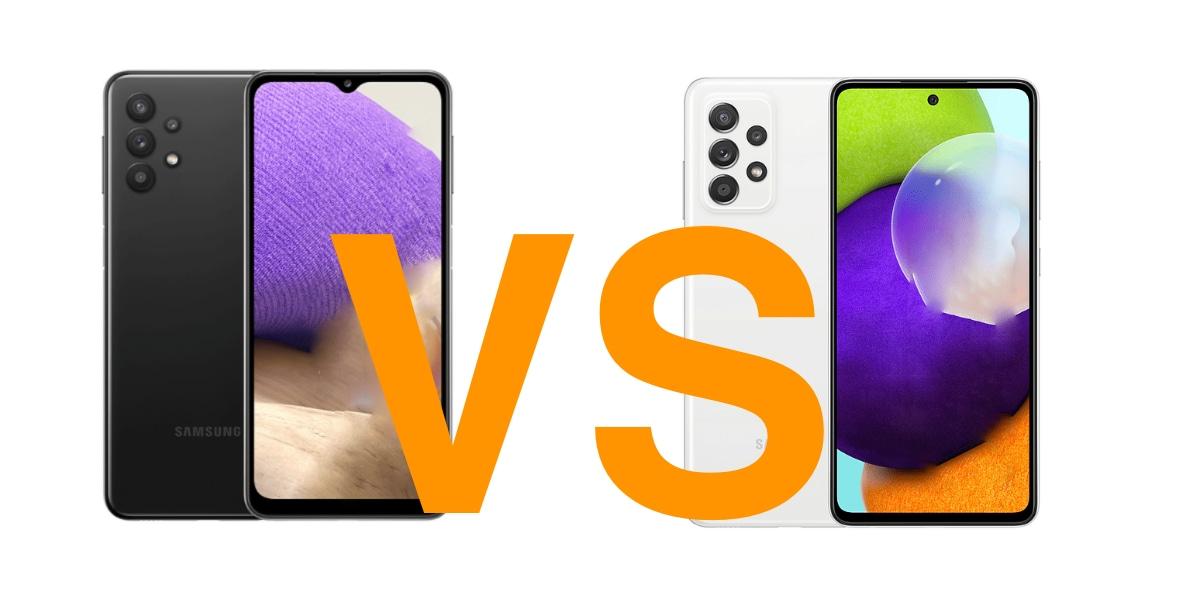 Samsung Galaxy A32 vs Galaxy A52, todas las diferencias que debes conocer