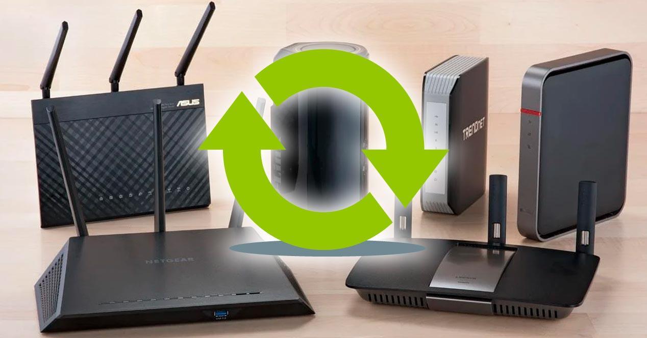 cambiar router operadora