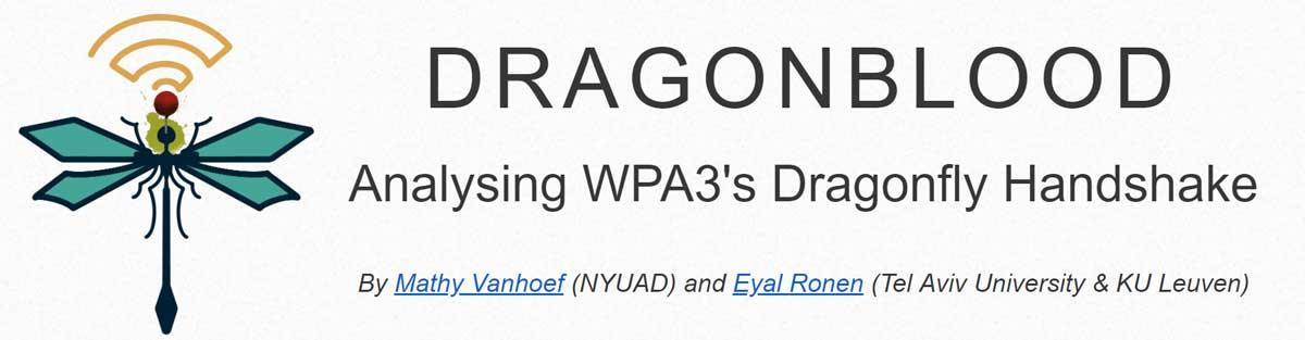 dragonblood wpa3