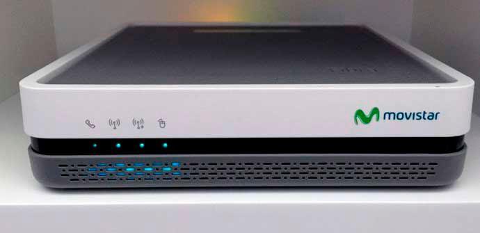 Movistar HGU, el router de O2