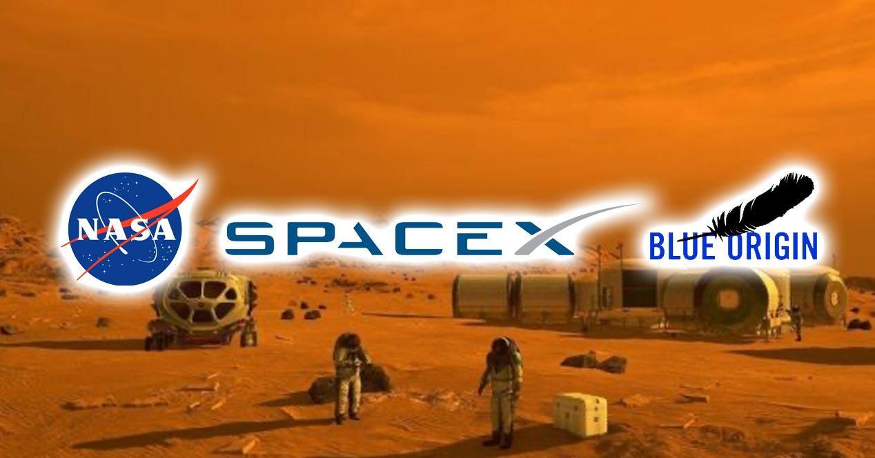 Empresas que pueden ser la primeras en llegar a Marte